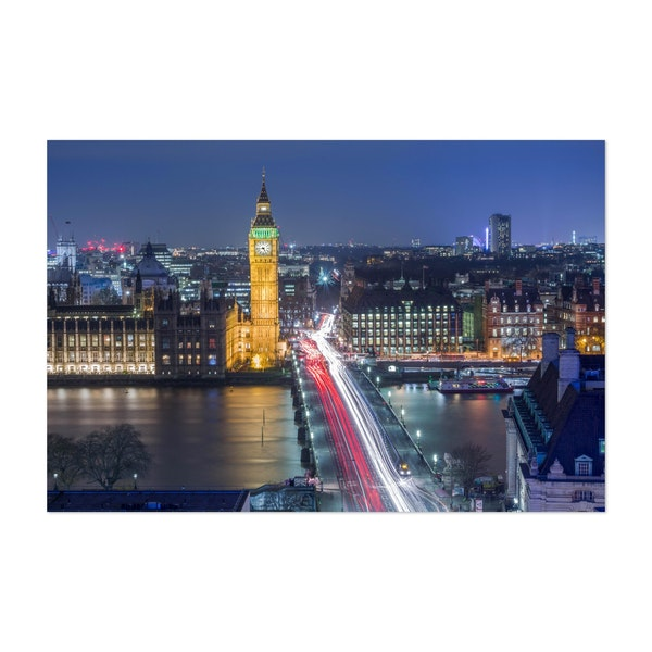Westminster By Night by Harry Sinclair