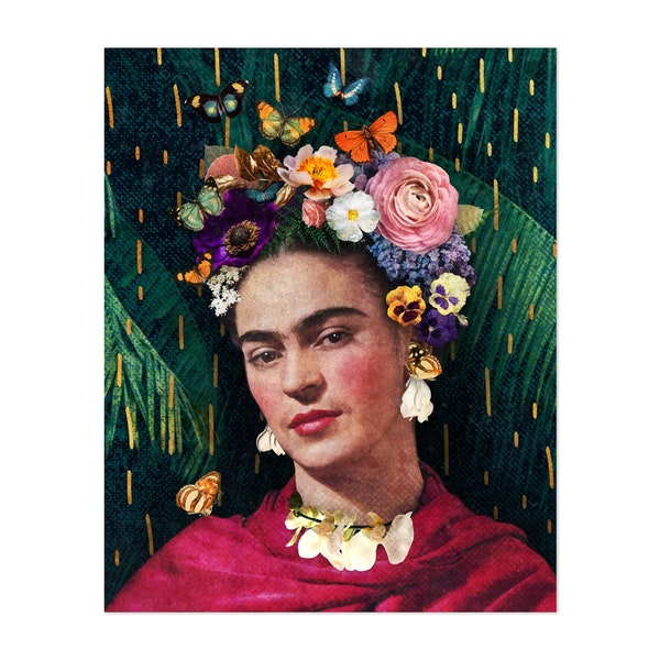 Frida Kahlo by Jenny Lloyd