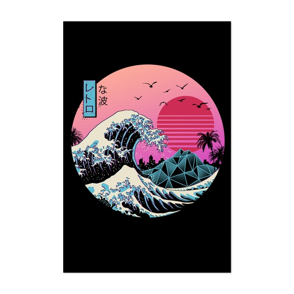 Great Retro Wave by Vincent Trinidad