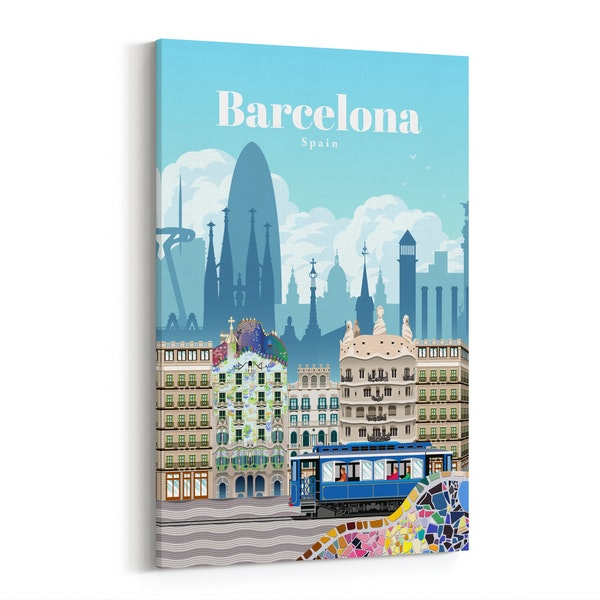 Travel to Barcelona by Studio 324
