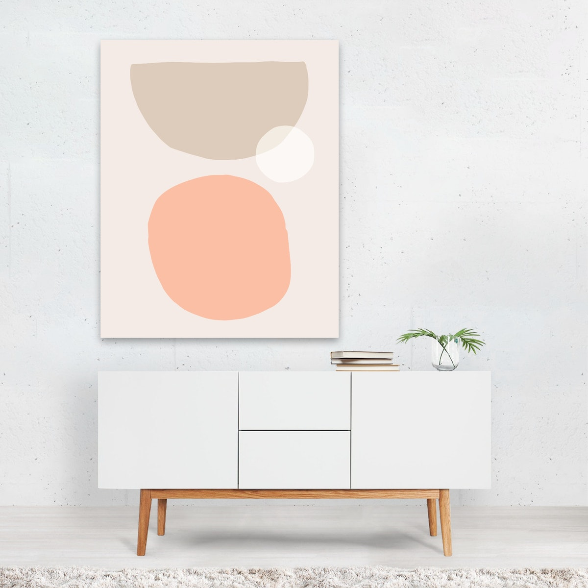 Abstraction in soft colors I