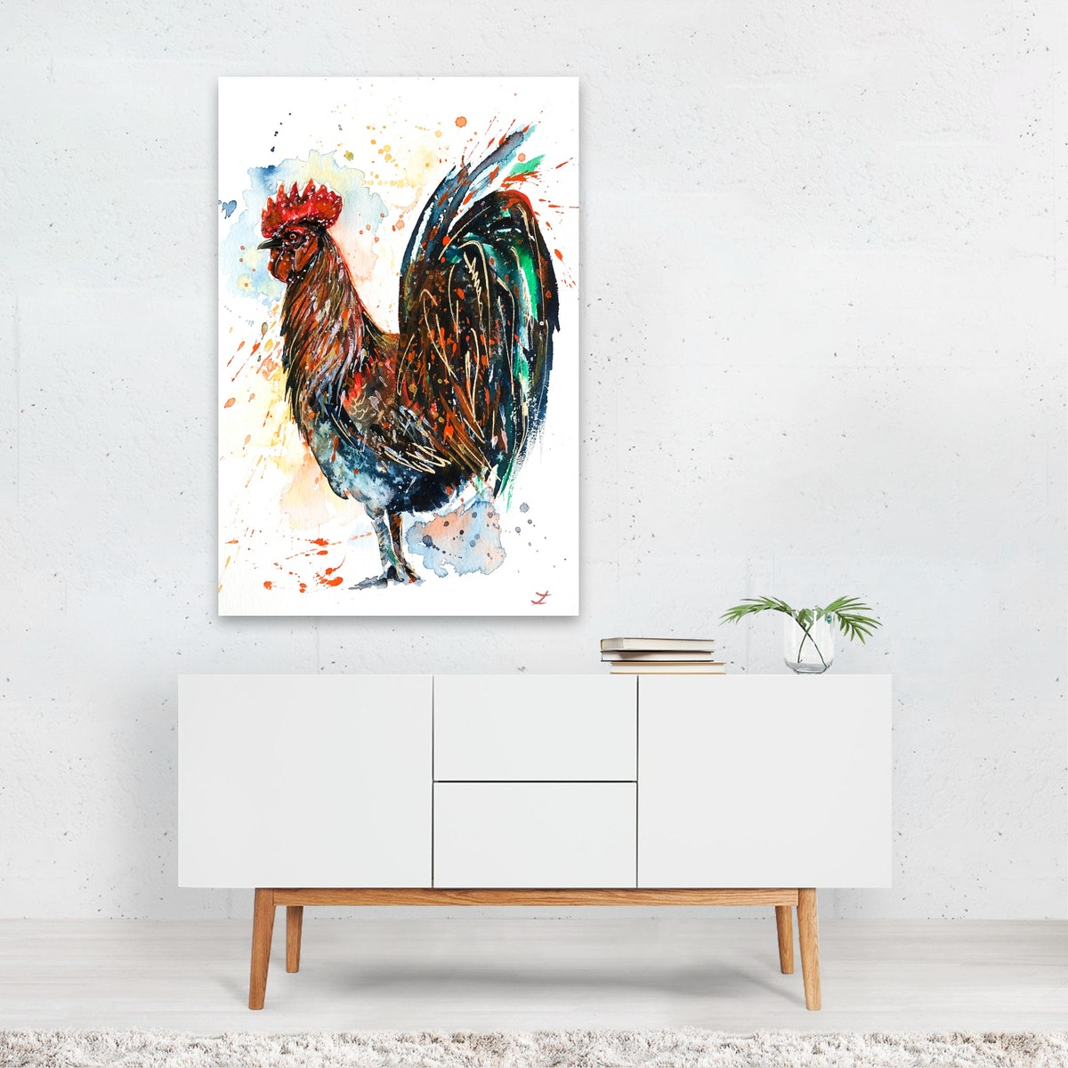 Brilliant Rooster