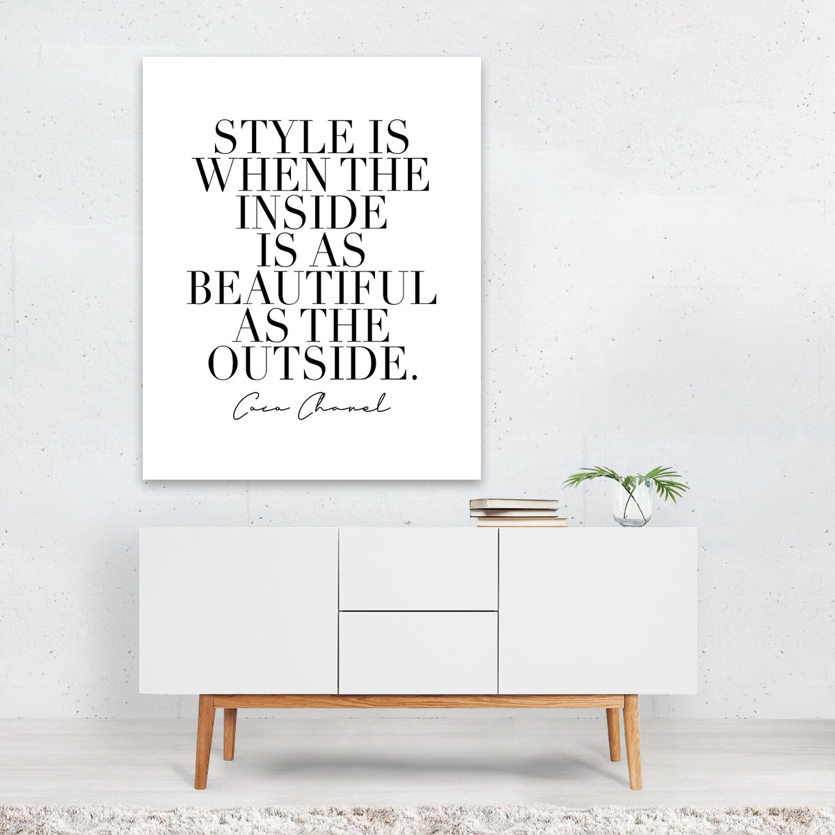 Style Is When the Inside Is As Beautiful As the Outside. -Coco Chanel Quote