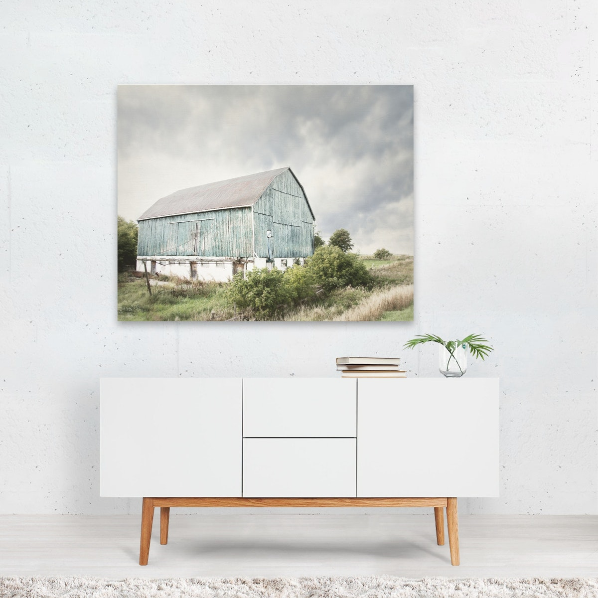 Late Summer Barn I