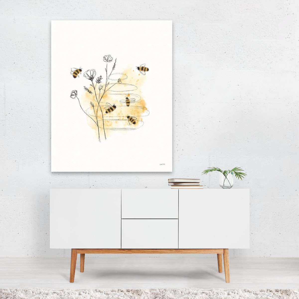 Bees and Botanicals I