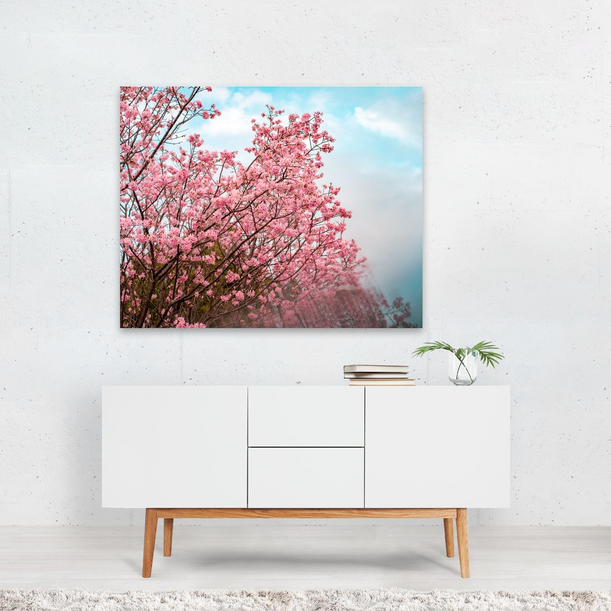Digital Cherry Blossoms