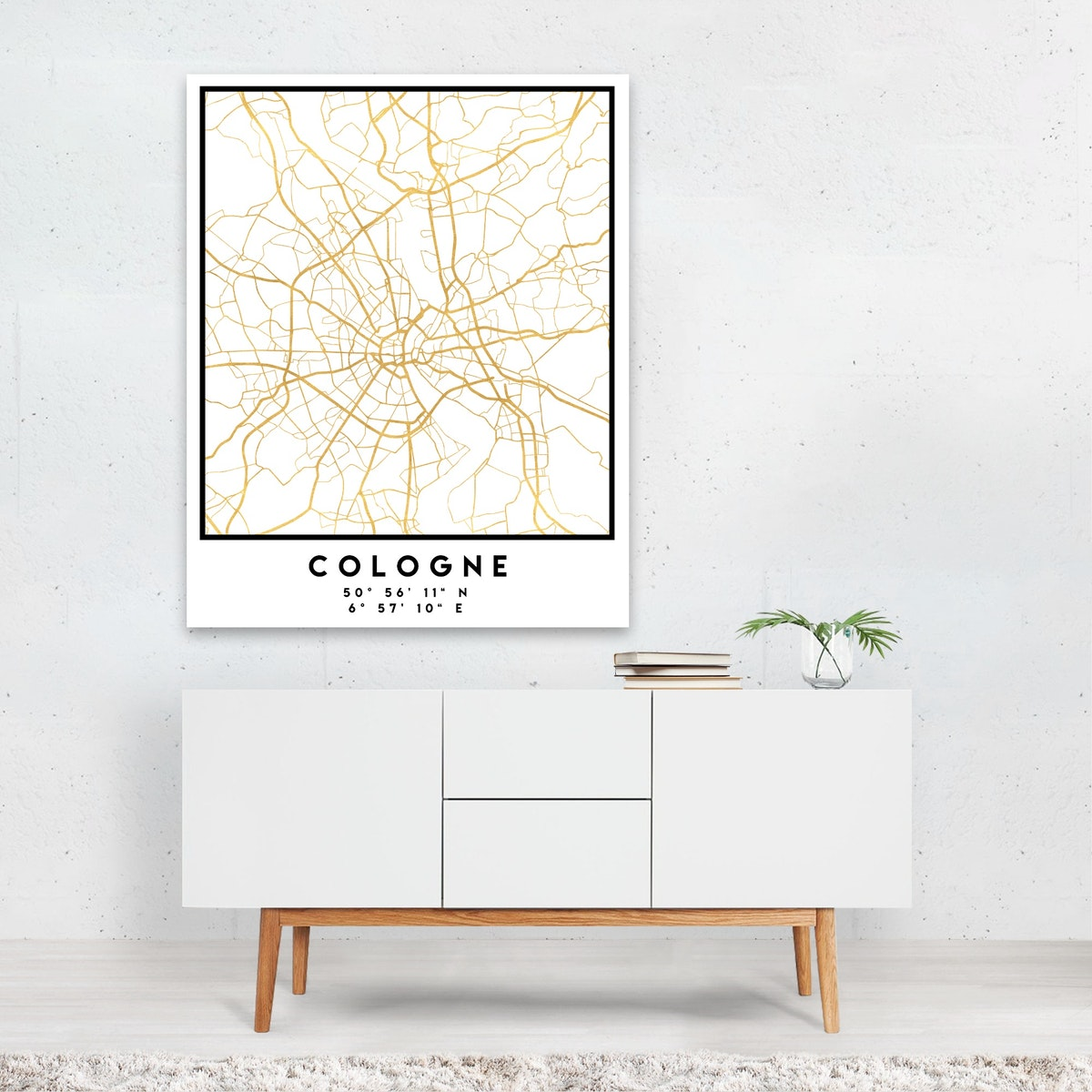 Cologne Street Map