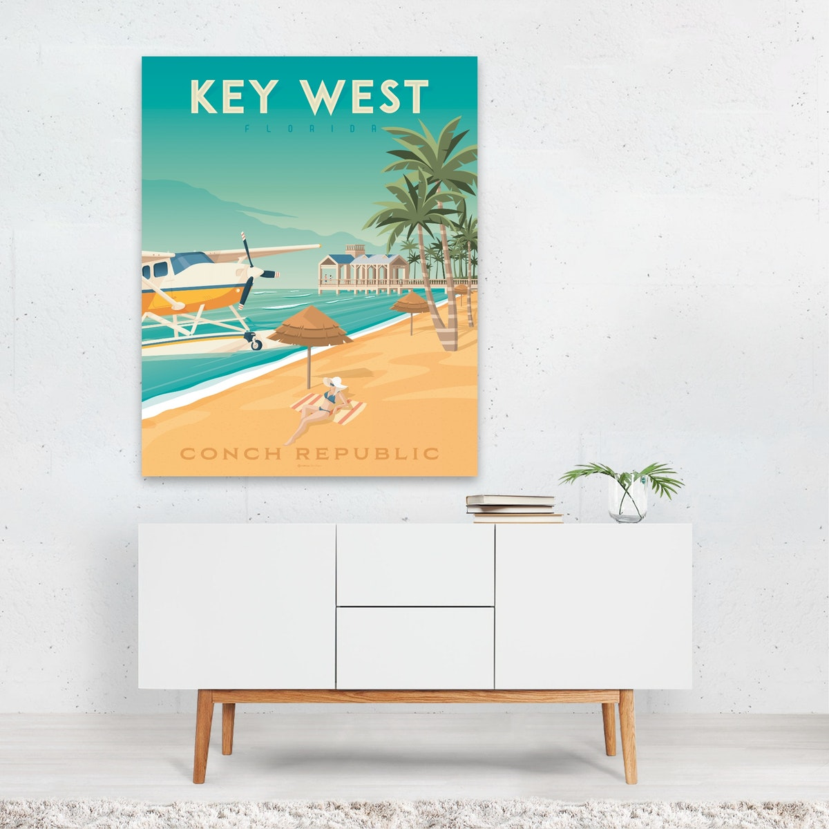 KEY WEST Travel Poster