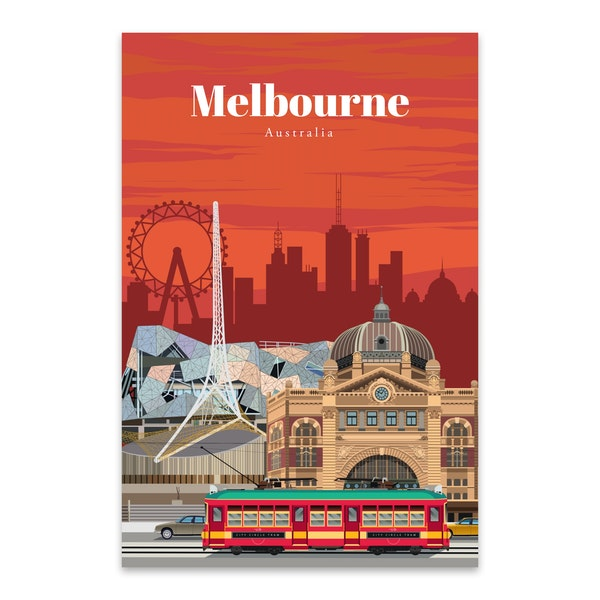 Travel to Melbourne by Studio 324