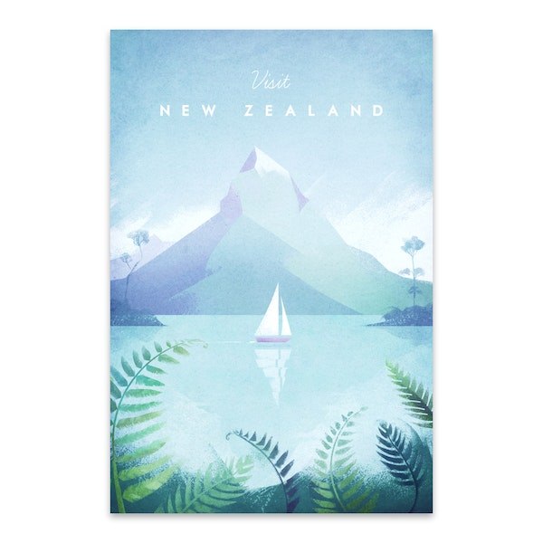 New Zealand by Henry Rivers
