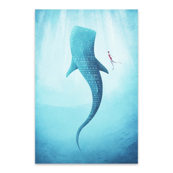 Whale Shark by Henry Rivers