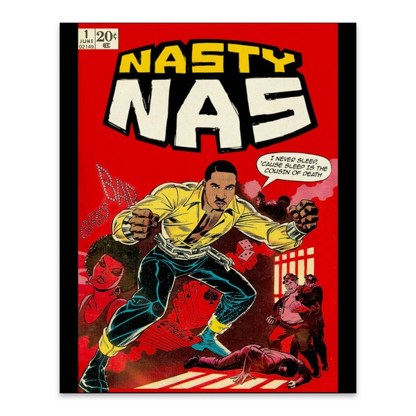 Nasty Nas by Ads Libitum